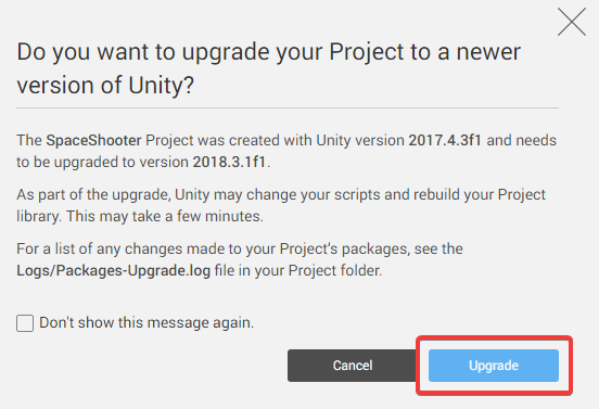 unity hub download old version