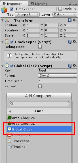 Add Global Clock 1