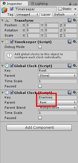 Add Global Clock 2